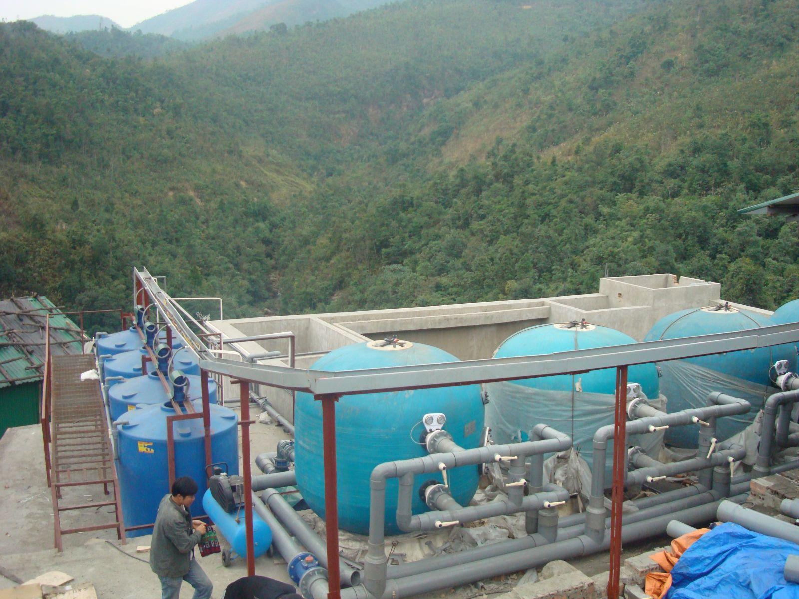 Dự án xử lý nước thải công nghiệp