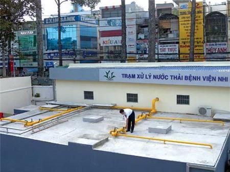 Dự án XLNT bệnh viện Nhi Đồng 2 TPHCM