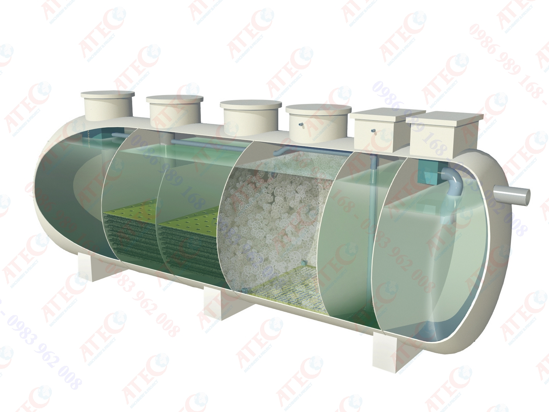 Modul xử lý nước thải công suất trung bình - AWM