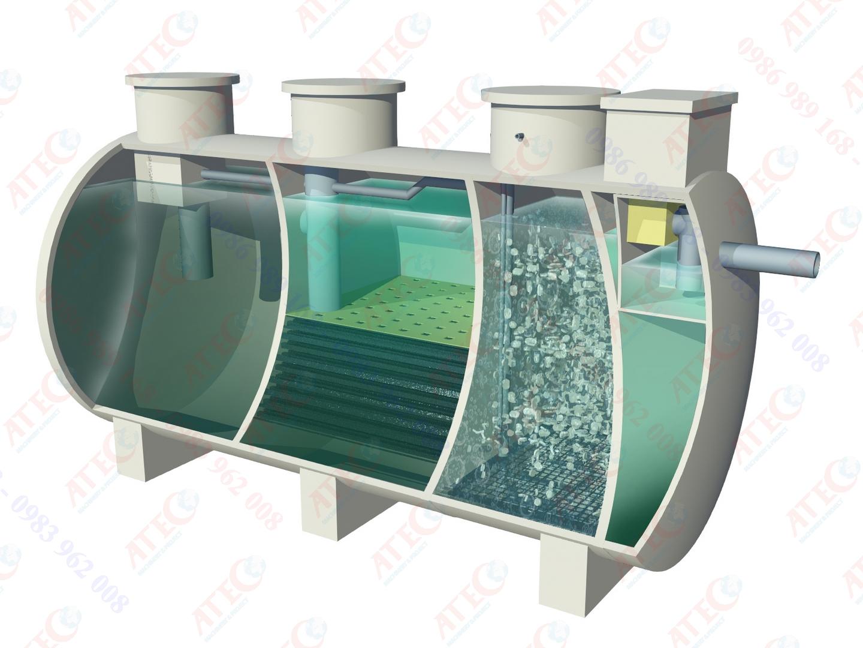 Modul xử lý nước thải công suất nhỏ - AWS